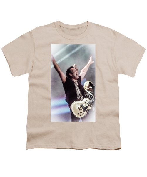 Vivian Campbell - Campbell Tough Youth T-Shirt by Luisa Gatti