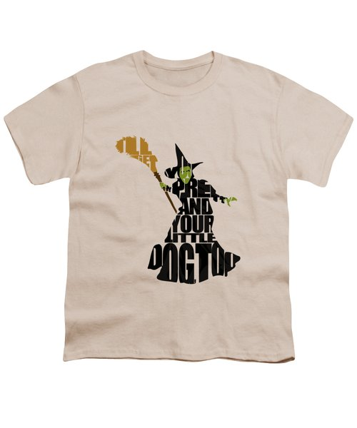 Wicked Witch Of The West Youth T-Shirt by Ayse Deniz