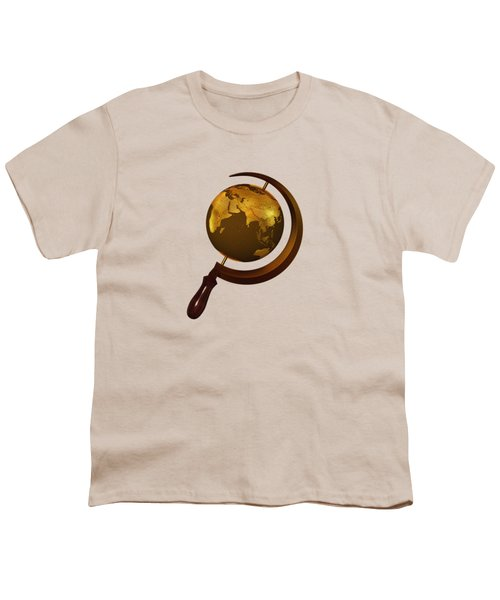 Workers Of The Globe Youth T-Shirt by Nicholas Ely