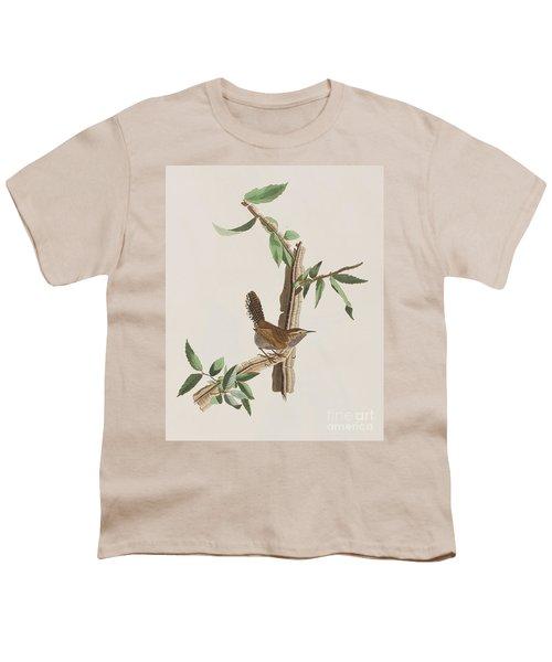 Wren Youth T-Shirt by John James Audubon