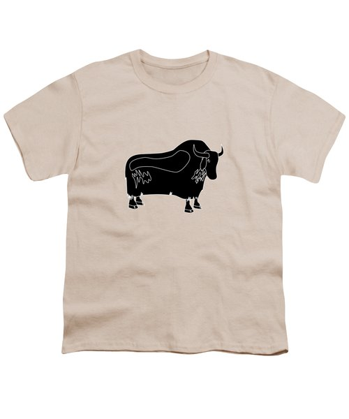 Yak Youth T-Shirt by Frederick Holiday