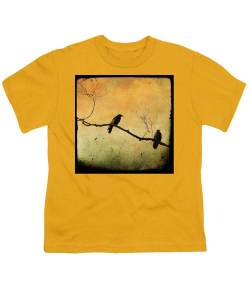 Crowded Branch Youth T-Shirt by Gothicolors Donna