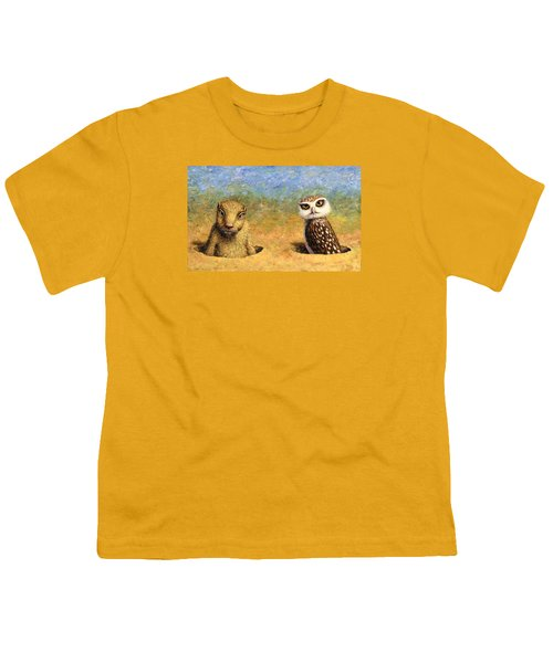 Neighbors Youth T-Shirt by James W Johnson