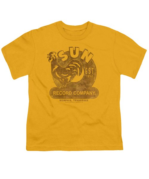 Sun - Sun Record Youth T-Shirt by Brand A