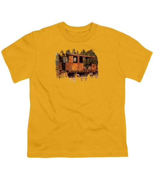 All Aboard The Excursion Car Youth T-Shirt by Thom Zehrfeld