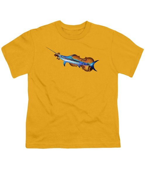 Fisholin V1 - Instrumental Fish Youth T-Shirt by Cersatti