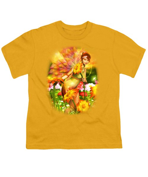 Golden Adornments Youth T-Shirt by Brandy Thomas