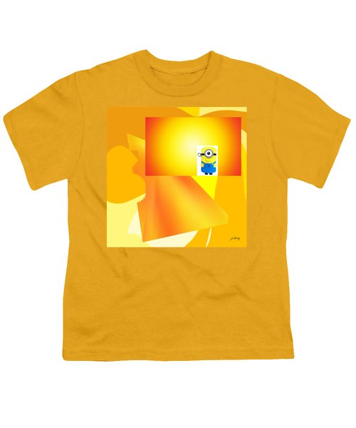 Hello Yellow Youth T-Shirt by Jacquie King