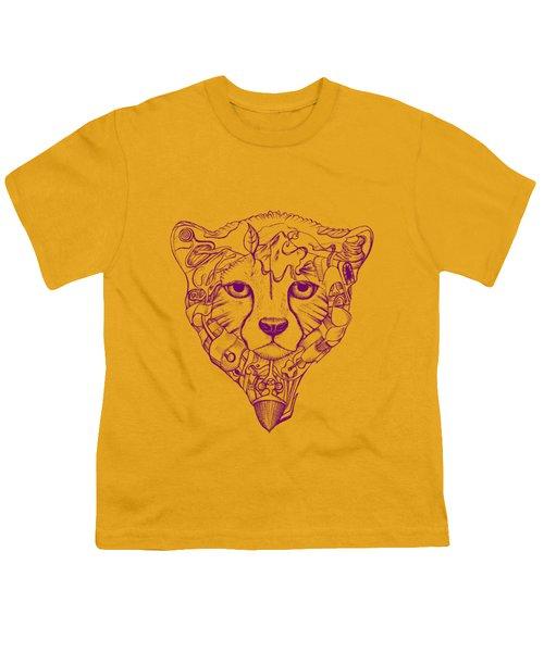 Iranian Cheetah Youth T-Shirt by Adam Campbell