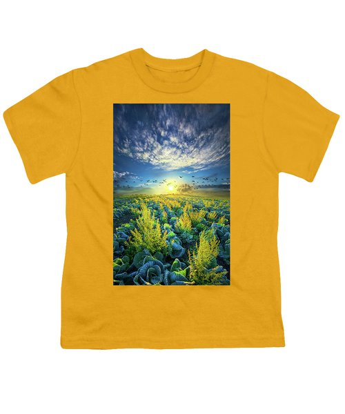 That Voices Never Shared Youth T-Shirt by Phil Koch