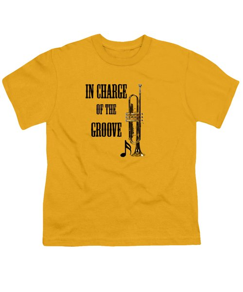 Trumpets In Charge Of The Groove 5536.02 Youth T-Shirt by M K  Miller
