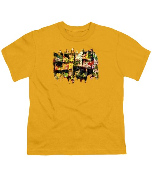 Veggies And Fruit Galore Youth T-Shirt by Thom Zehrfeld