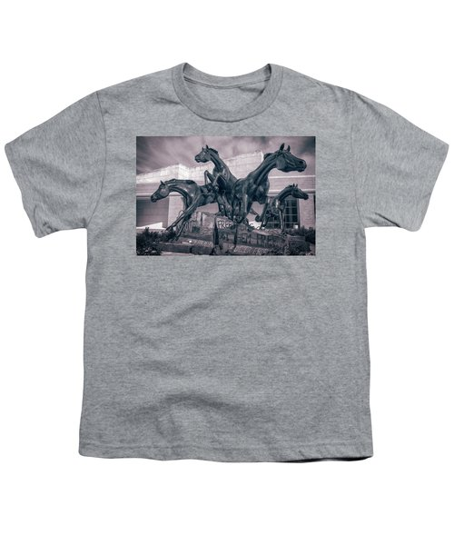 A Monument To Freedom II Youth T-Shirt by Joan Carroll