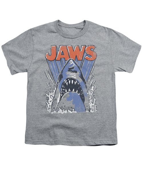 Jaws - Comic Splash Youth T-Shirt by Brand A