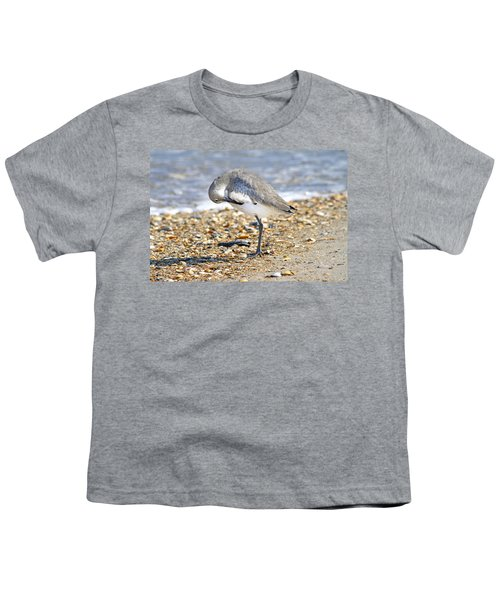 Sandpiper Youth T-Shirt by Betsy Knapp