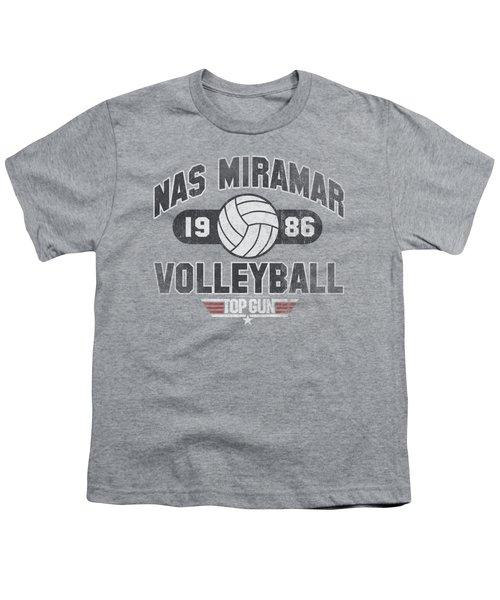 Top Gun - Nas Miramar Volleyball Youth T-Shirt by Brand A