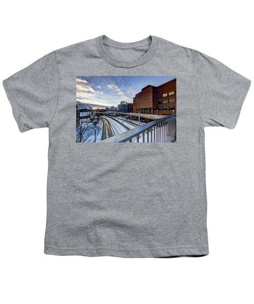 University Of Minnesota Youth T-Shirt by Amanda Stadther