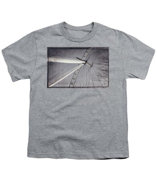 Eye On London Youth T-Shirt by Joan Carroll