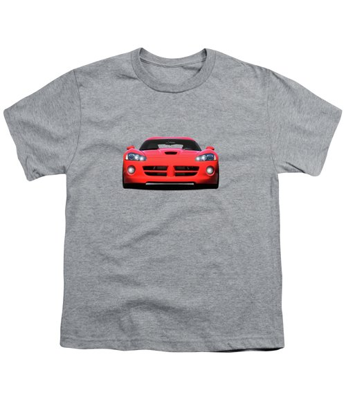 Dodge Viper Youth T-Shirt by Mark Rogan