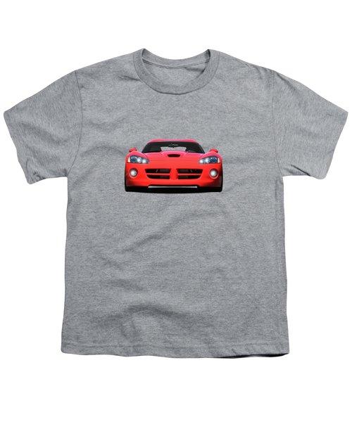 Dodge Viper Youth T-Shirt by Mark Rogan
