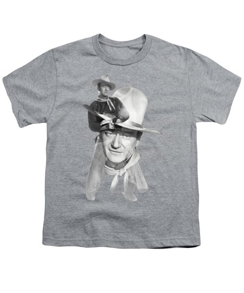 The Duke John Wayne Youth T-Shirt by Diana Van