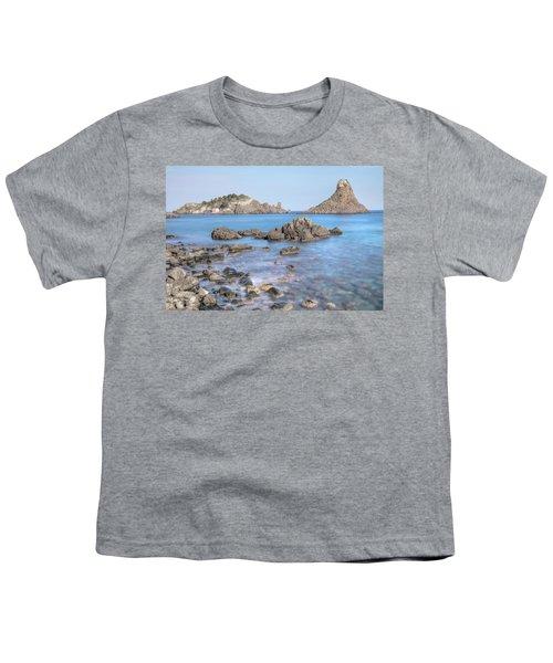 Aci Trezza - Sicily Youth T-Shirt by Joana Kruse