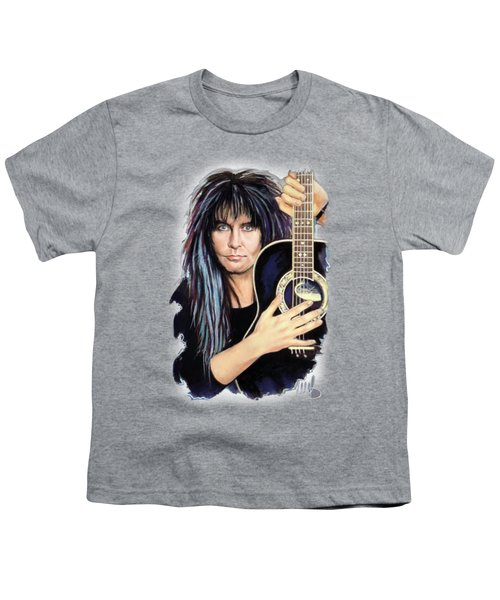 Blackie Lawless Youth T-Shirt by Melanie D