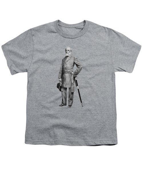 General Robert E. Lee Youth T-Shirt by War Is Hell Store