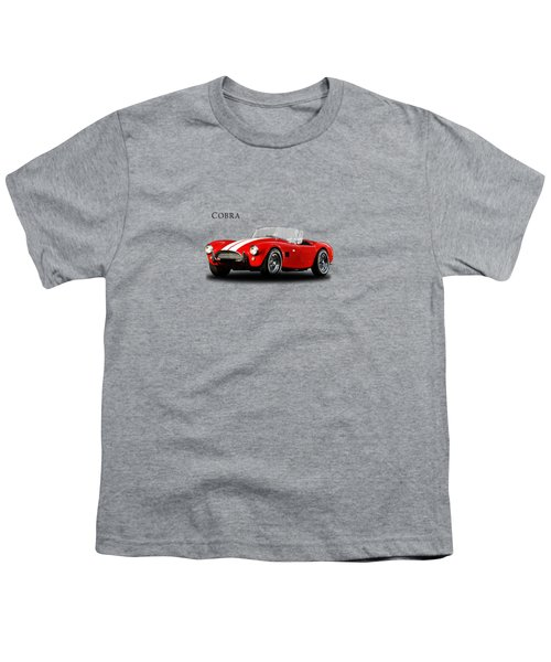 Ac Cobra Mk2 1963 Youth T-Shirt by Mark Rogan
