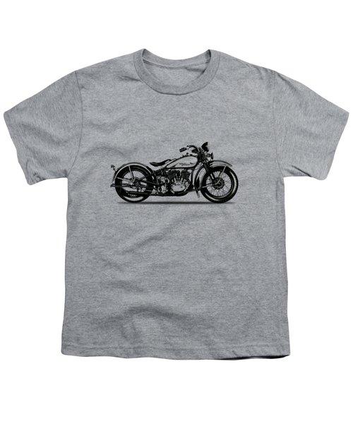 Harley Davidson 1933 Youth T-Shirt by Mark Rogan