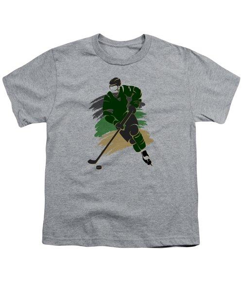 Dallas Stars Player Shirt Youth T-Shirt by Joe Hamilton