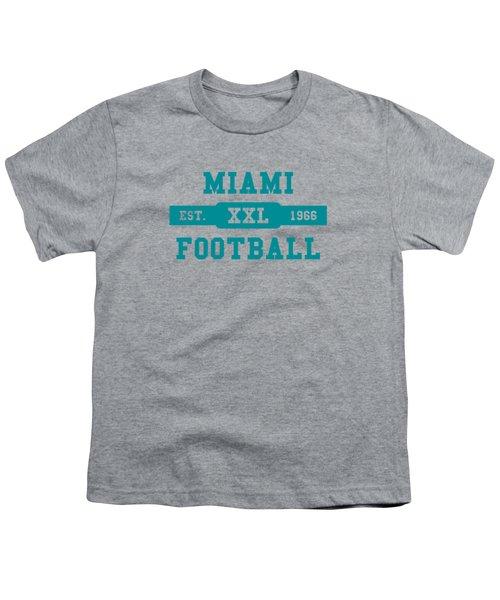Dolphins Retro Shirt Youth T-Shirt by Joe Hamilton