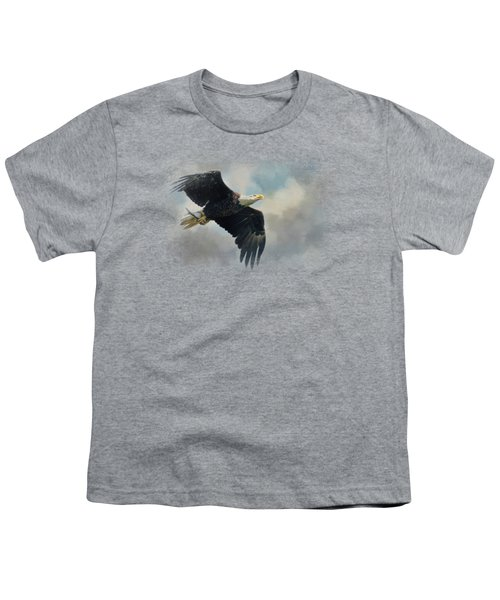 Fish In The Talons Youth T-Shirt by Jai Johnson