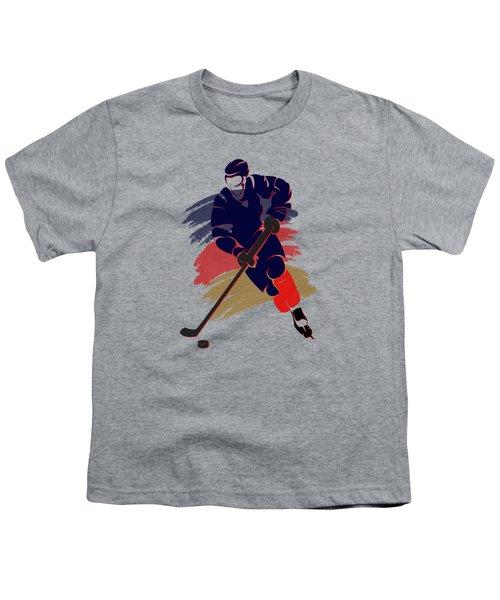Florida Panthers Player Shirt Youth T-Shirt by Joe Hamilton