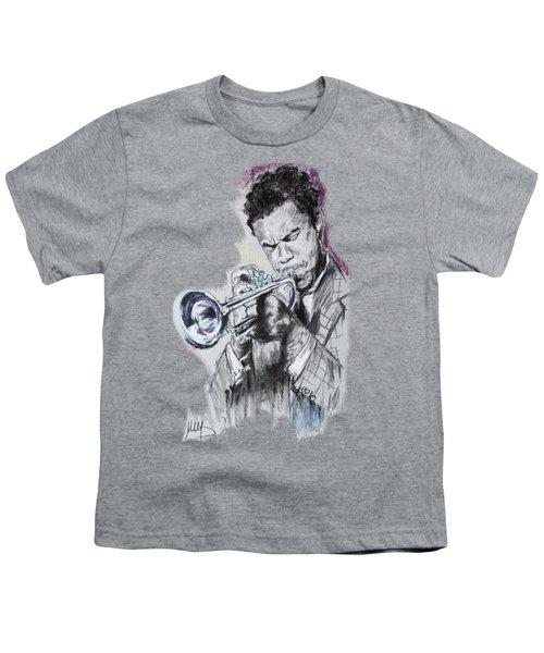 Freddie Hubbard Youth T-Shirt by Melanie D