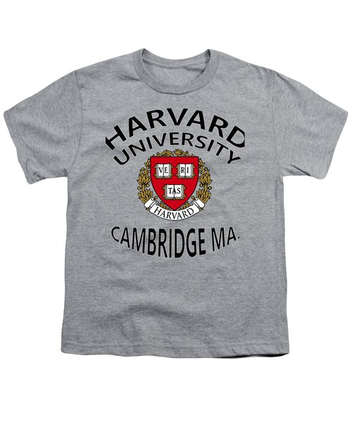 Harvard University Cambridge M A  Youth T-Shirt by Movie Poster Prints