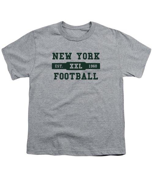 Jets Retro Shirt Youth T-Shirt by Joe Hamilton