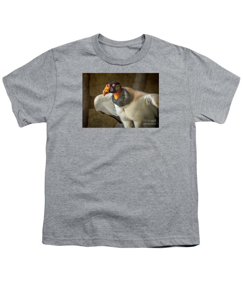 King Vulture Youth T-Shirt by Jamie Pham