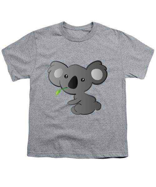 Koala Youth T-Shirt by Hadeel ArT