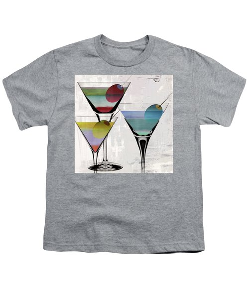 Martini Prism Youth T-Shirt by Mindy Sommers