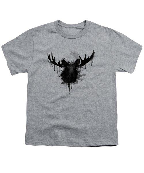 Moose Youth T-Shirt by Nicklas Gustafsson