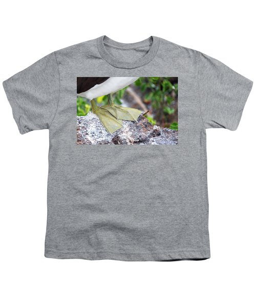 Nazca Booby Feet Youth T-Shirt by Jess Kraft