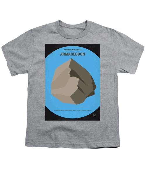 No695 My Armageddon Minimal Movie Poster Youth T-Shirt by Chungkong Art