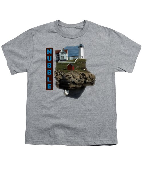 Nubble T-shirt Youth T-Shirt by Mim White