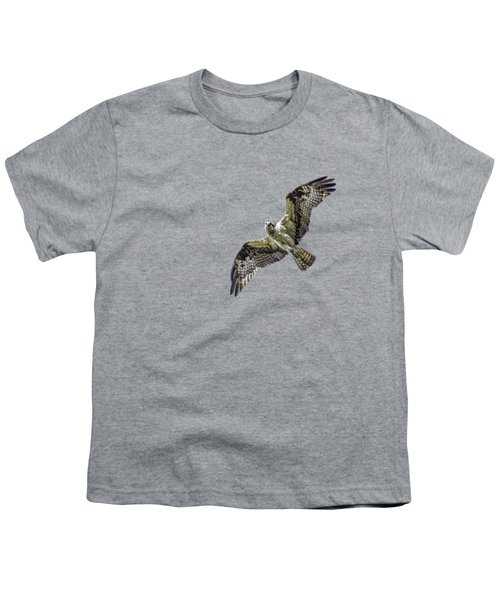 Osprey Overhead Youth T-Shirt by Nick Collins
