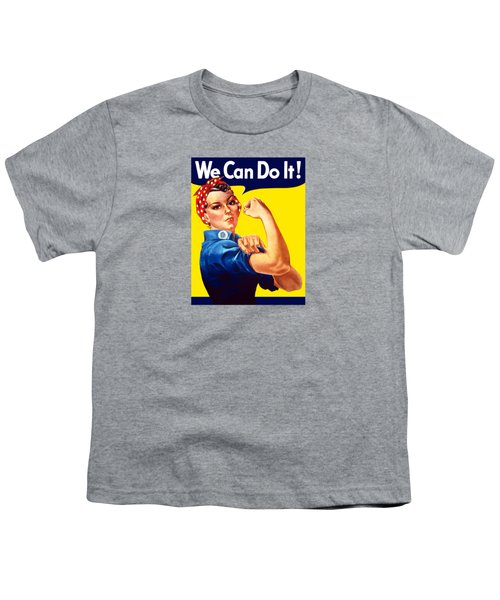 Rosie The Rivetor Youth T-Shirt by War Is Hell Store