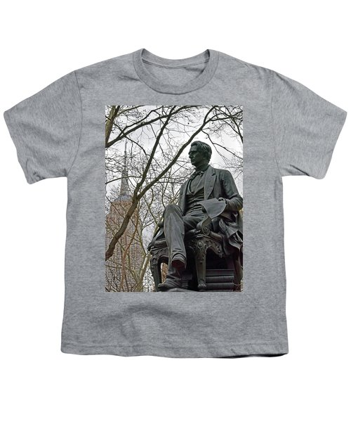 Seward And Empire State Youth T-Shirt by Sandy Taylor