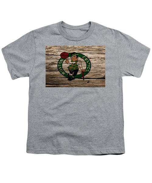 The Boston Celtics W1 Youth T-Shirt by Brian Reaves