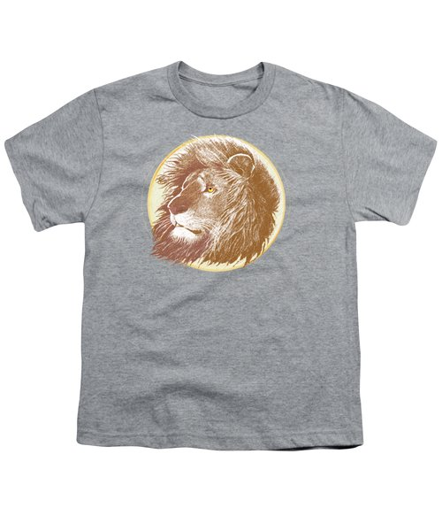 The One True King Youth T-Shirt by J L Meadows