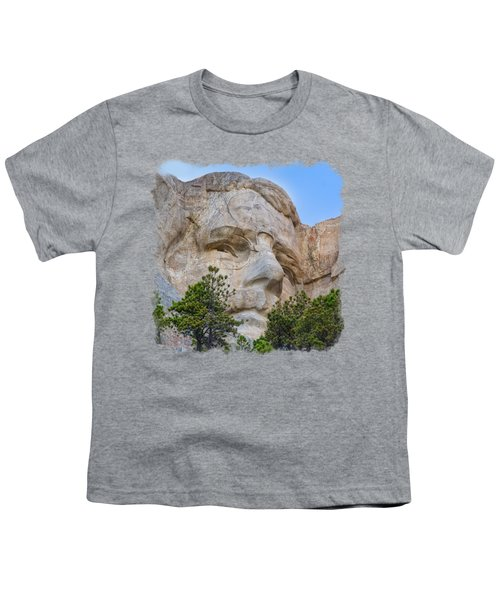Theodore Roosevelt 3 Youth T-Shirt by John M Bailey